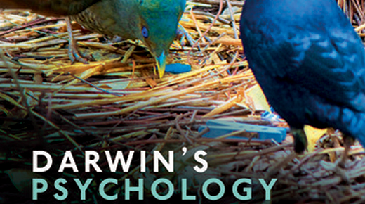 Cover of Darwin's Psychology