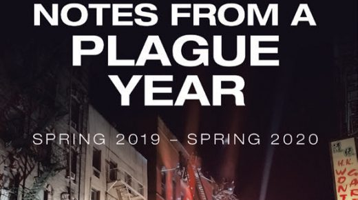 Front cover of Notes from a Plague Year