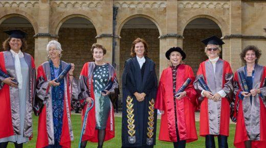 Catz alumna Jeanette Winterson receives honorary degree